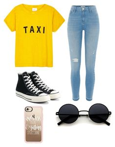 """""""Untitled #271"""" by erumwaseem on Polyvore featuring Compañia Fantastica, River Island, Converse and Casetify"""
