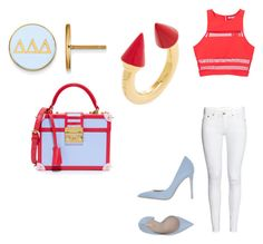 """Untitled #377"" by hakunamatata666 on Polyvore featuring MayraFedane, Vita Fede, LogoArt, Le Silla and T By Alexander Wang"