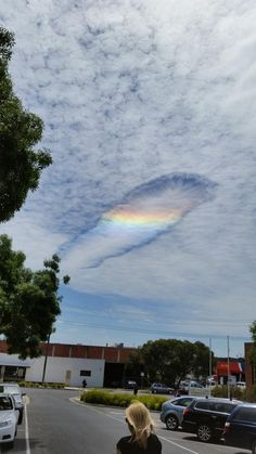 Fallstreak Hole - A Rare Cloud - dazzled Victoria (Australia) and People Thought It Was The Rapture