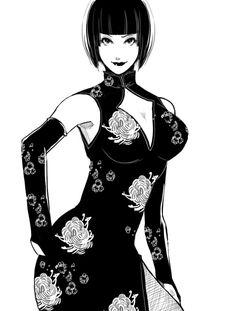 King Of Fighters, Anime Art Girl, Manga Art, Tekken Cosplay, Tekken 7, Tekken Girls, Street Fighter Tekken, Anna Williams, Japanese Art Modern