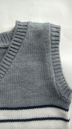 Knitting, Crochet, Sweaters, Fashion, Men Scarf, Knit Vest, Knitting Machine, Stripes, Knitting And Crocheting