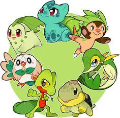 Pokemon Grass Starter