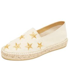 South Parade Star Embroidered Espadrilles   (Don't worry—they're cute!)  $98  shopbop