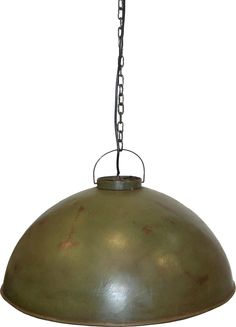 Large rustic pendant lamp in original factory style from Trademark Living