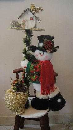 <3 Image Results Christmas Sewing, Christmas Snowman, Winter Christmas, Christmas Time, Christmas Wreaths, Christmas Ornaments, Christmas Christmas, Snowman Crafts, Christmas Crafts