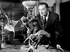 Classic Horror Movie Giant is the immortal Vincent Price. Read up and watch clips of the classic master of horror at work. Vincent Price, Best Horror Movies, Classic Horror Movies, Greatest Movies, Classic Films, Classic Tv, House On Haunted Hill, Haunted Houses, Hill House