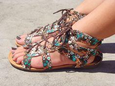 Retro Gladiator Shoes