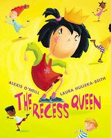 Using The Recess Queen for Opinion Writing