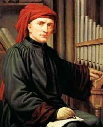 Josquin Lebloitte dit Josquin des Prés né peut-être à Beaurevoir vers 1450 et mort à Condé-sur-l'Escaut le 27 août 1521. Compositeur et musicien très célèbre, l'Europe entière lui commande ses œuvres.