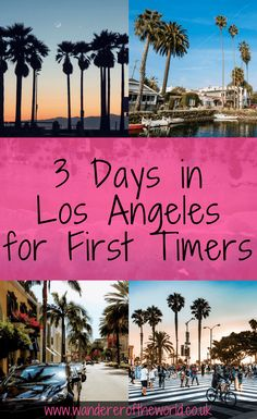 Los Angeles Itinerary: 3 Days in Los Angeles for First Time Visitors This 3 day Los Angeles itinerary aims to show all first time visitors the attractions that are expected alongside hidden gems you may not have known about. Los Angeles Travel Guide, Los Angeles Vacation, Disneyland Los Angeles, Los Angeles Day Trips, Weekend In Los Angeles, Downtown Los Angeles, California Vacation, California Dreamin', California Tourist Attractions