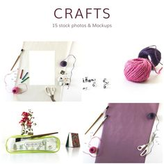 Arts and Crafts (13 Stock Photos) by Ivory Mix on @creativemarket