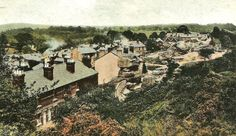 Undated old postcard of Denny Bottom, Rusthall.