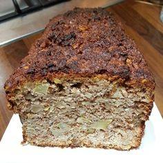 Appel notencake - suikervrij, glutenvrij, granenvrij, broodbuik