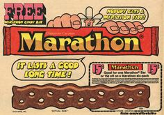 Marathon Candy Bar - 1973 from Waffle Whiffer.
