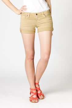 Big Star - Remy Low Rise Short in RUSTIC from A-Thread - $69.00