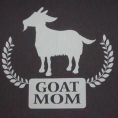 goat mom t-shirts