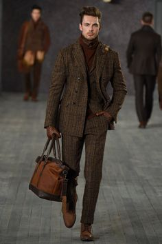 Joseph Abboud Fall 2016 Menswear Fashion Show Fashion Moda, Fashion Show, Mens Fashion, Stylish Men, Men Casual, Joseph Abboud, Mens Style Guide, Well Dressed Men, Gentleman Style