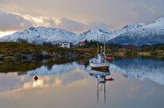 Fishing village in northern #Norway