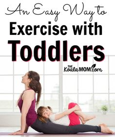 The problems I've faced in figuring out how to exercise with toddlers, and what my solution has been recently (hint: the kids do it with me! Toddler Exercise, Exercise For Kids, Healthy Kids, Get Healthy, Healthy Recipes, Easy Workouts, At Home Workouts, Daily Exercise Routines, Baby Yoga