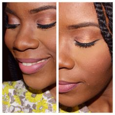 Natural gold and pink makeup look. #innerbeautyout #pinklips #beauty #natural