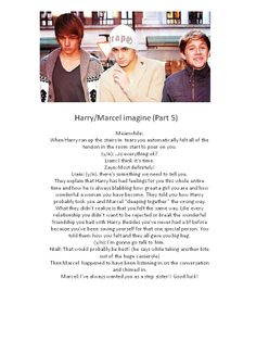 Marcel/Harry imagine - Part 5