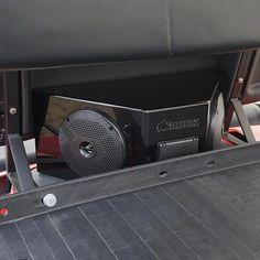 Universal Golf Cart RHOX Audio Center Enclosure with Power Center Golf Cart Seats, Golf Trolley, Golf Cart Repair, Electric Golf Cart, Custom Golf Carts, Golf Cart Accessories, Golf Club Grips, Used Golf Clubs, Audio