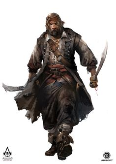 ArtStation - Assassin's Creed IV: Black Flag - Character concept, TEO YONG JIN