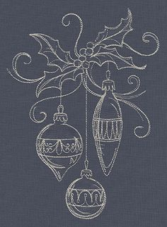 Deck the halls in glamorous style with these quick-stitching Christmas embroidery designs! Christmas Drawing, Christmas Art, Christmas Ornaments, Xmas, Christmas Chalkboard Art, Chalkboard Designs, Chalkboard Diy, Christmas Window Decorations, Parchment Cards