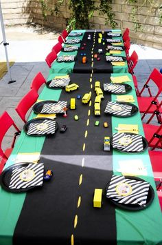 Kara's Party Ideas Wheels On The Bus Party Planning Ideas Supplies Idea Back To School School Bus Party, Tayo The Little Bus, 3rd Birthday Parties, 2nd Birthday, Birthday Ideas, Transportation Birthday, Wheels On The Bus, Car Wheels, Der Bus