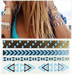 Goedkope schaal blauw metallic goud henna tatoo taty tijdelijke tatoeages waterdicht flash tattoo body paint tatouage hete sex producten sticker, koop Kwaliteit tijdelijke tatoeages rechtstreeks van Leveranciers van China:   hete producten  diy schaal blauw goud metallic tattoo tijdelijke tatoe