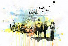 Batman by Lora Zombie