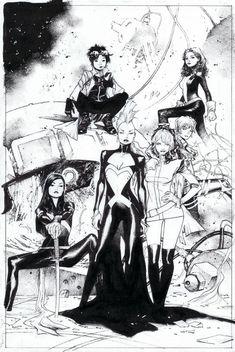 X-Men No.1 by Olivier Coipel