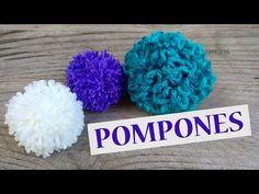 El secreto para hacer pompones de lana fácil y rápido!!! - YouTube