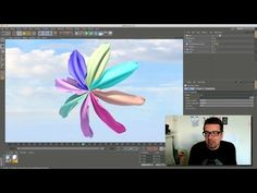 behind Cinema 4D cloth / tutorial - YouTube