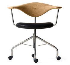 PP Mobler : Hans J Wegner PP502 Swivel Chair