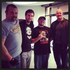 Kane Hodder, Joel David Moore, Derek Mears, Hatchet