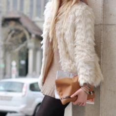 Fabulous fur!  #fur #winterfashion #hswardrobe