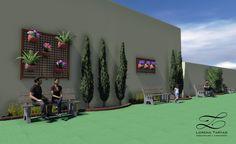 Projeto de concepção de um jardim no recuo lateral da Igreja São Paulo Apóstolo em Goiânia. O jardim foi projetado para criar um ambiente onde as pessoas possam descansar em meio à...