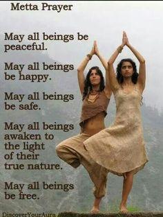 May ALL beings be peaceful... Ayurveda, Chakras, Namaste, Yoga Fitness, Motivation Yoga, Mudras, Sup Yoga, Religion, Yoga Quotes