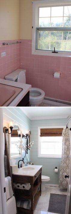 kleine bäder einrichten-ideen-creme-fliesen-wanne-dusche - regale für badezimmer