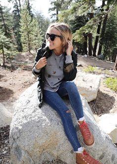 Glamping in Sequoia National Park Sequoia National Park, National Parks, Fall Fashion Outfits, Autumn Fashion, Bixby Bridge, Black Wool Coat, Black Suede Pumps, Autumn Inspiration, Fashion Inspiration