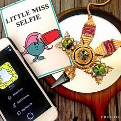 That friend who is always ready to take a selfie! Watch out she might be taking one right now  #TAGTHEMNOW  #Prerto #LittleMiss #Fashion #Love #Jewelry #Luxury #Statement #Selfie #Trend