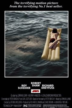 A fantastic JAWS poster featuring Alex Kintner.