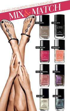 chanel polish mixes for hands and toes