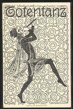 Danse Macabre Art Nouveau