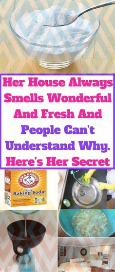 Her House Always Smells Wonderful And Fresh And People Can't Understand Why. Here's Her Secret Your house always smells wonderful and fresh, and people can not understand why. Here's her secret – Healthy Tips Health Tips For Women, Health Advice, Health And Beauty, Health And Wellness, Health Care, Health Fitness, Health Diet, Women Health, Wellness Quotes