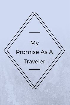 My Promise As A trav