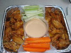 Hawaiian Spicy Hot Buffalo-Style Chicken Wings