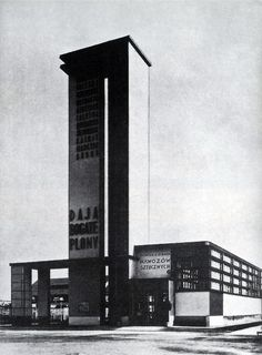szymon syrkus - fertlizer pavilion, national exhibition, poznań, 1929