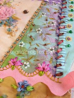 Crazy Quilt CQJP2015 Challenge project, crazy quilt heart by Ingrid Lee